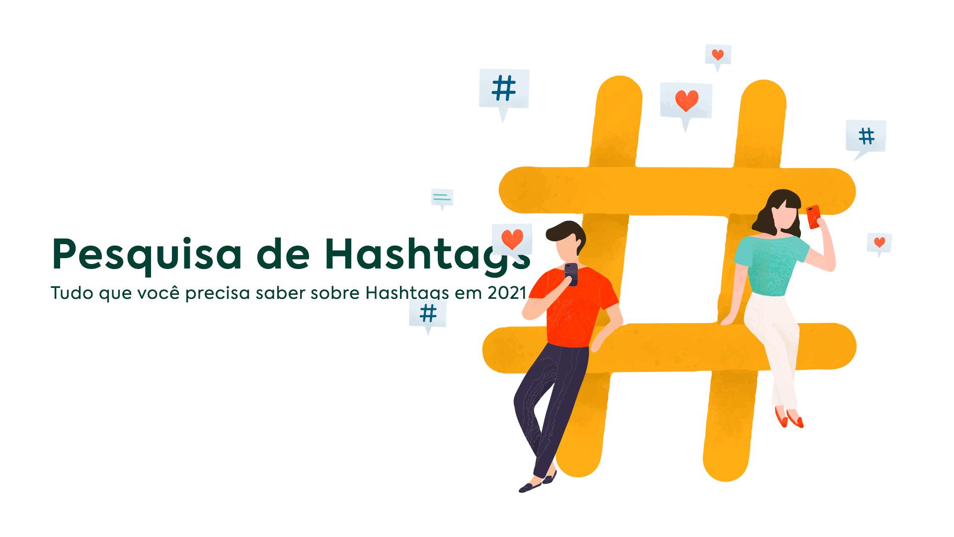pesquisa de hashtags 2021